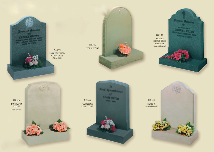 Headstones and Memorials